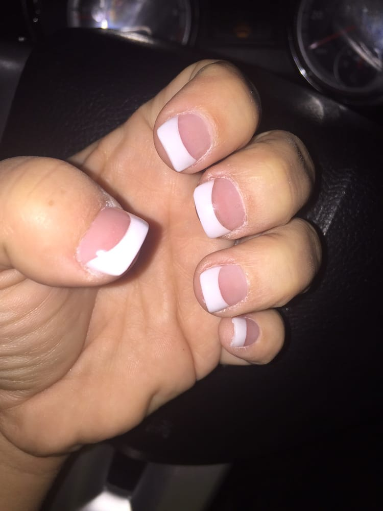 Very Happy With My Nails Also Love The Salon Solar Nails