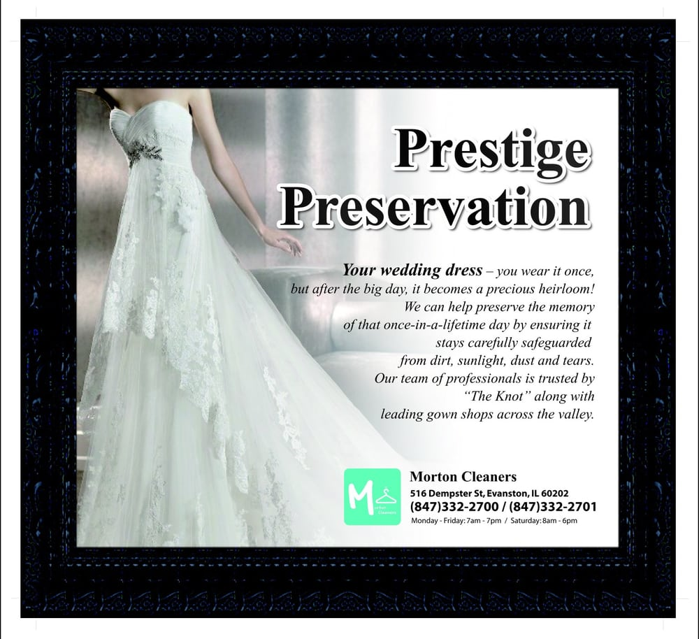 Wedding Dress Prestige Preservation Yelp