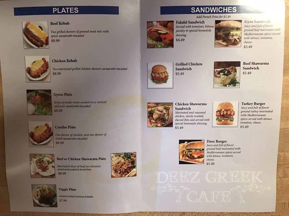 Asian cafe menu in smyrna tn