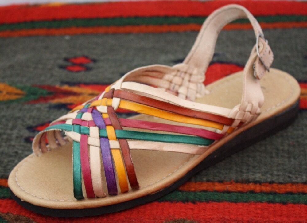 93d0cf3c Photo of Sandalias Paola - Santa Lucía del Camino, Oaxaca, Mexico. Sandalia  para