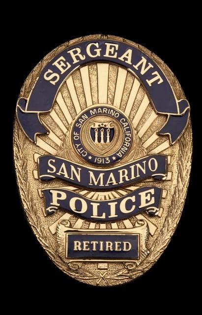 San Marino Retired Police Officer - Yelp
