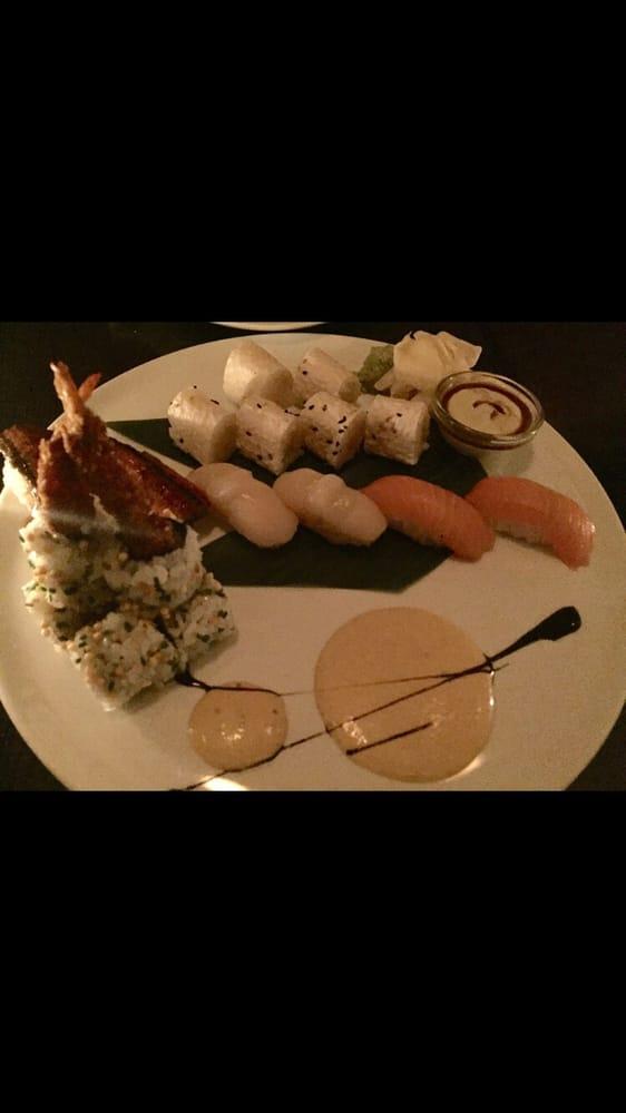 Yellowtail Belly Sushi Jalapeño Scall...