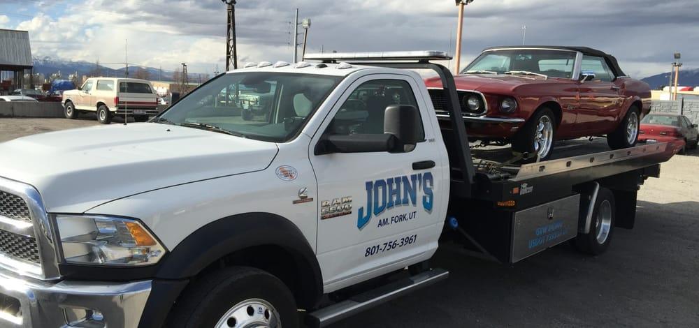 John's Towing: 74 S 500th E, American Fork, UT