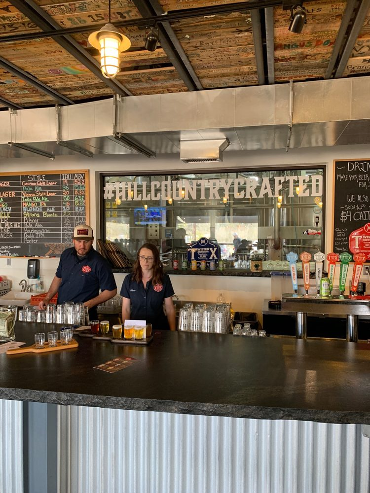 Twisted X Brewing Company: 23455 W RR 150, Dripping Springs, TX