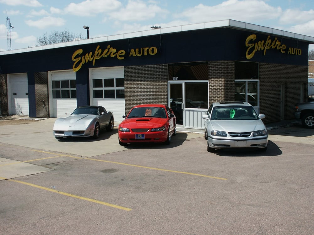 empire auto sales used car dealers 1401 s minnesota ave sioux falls sd phone number yelp. Black Bedroom Furniture Sets. Home Design Ideas