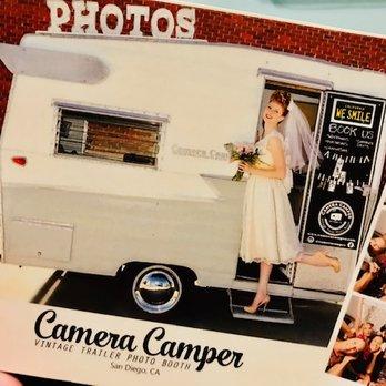 Camera Camper Vintage Trailer Photo Booth - 47 Photos & 22