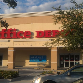 Photo Of Office Depot   Pompano Beach, FL, United States. Front