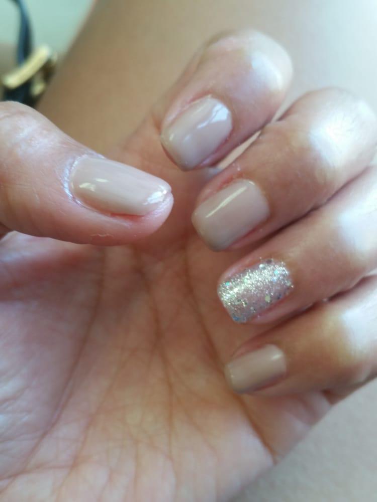 Natural color gel nails by Van - Yelp