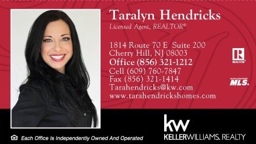 My business card feel free to share yelp photo of taralyn hendricks keller williams realty cherry hill nj united states reheart Image collections