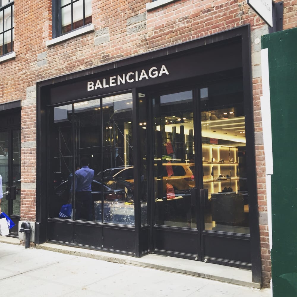 Balenciaga men shopping 149 mercer st soho new for Balenciaga store in soho