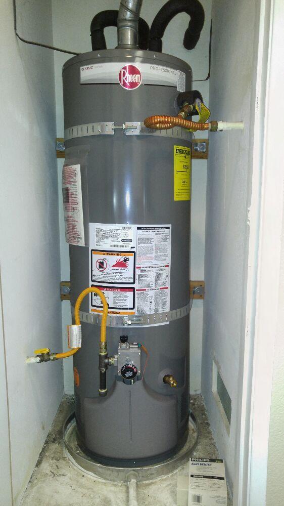 Rheem Water Heater Installation In Lake Forest Ca Yelp