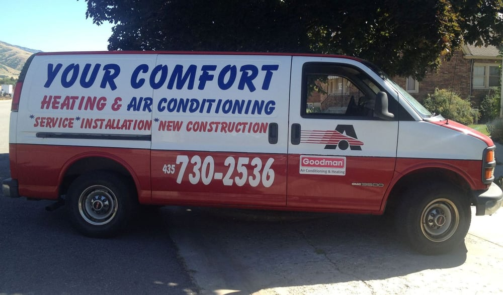 Your Comfort Heating and A/C: 87 N 400th E, Brigham City, UT