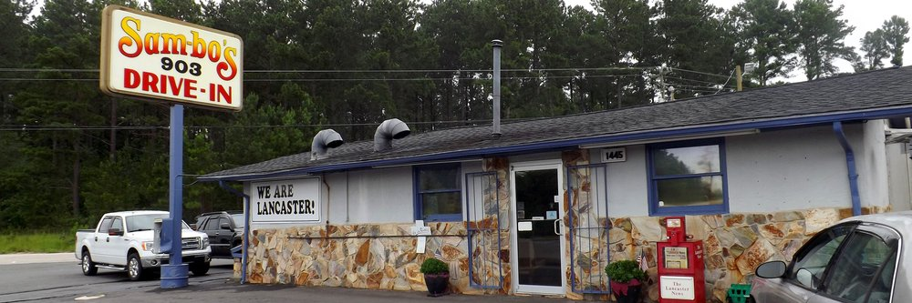 Sambo's 903 Drive-In: 1445 Flat Creek Rd, Lancaster, SC