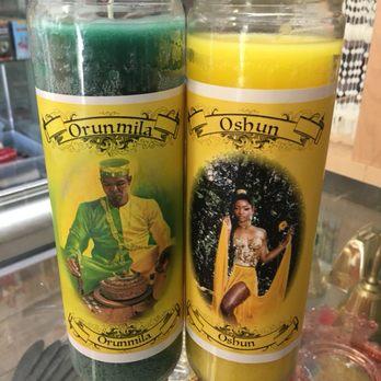 Oshun and Orumila Candles - Yelp
