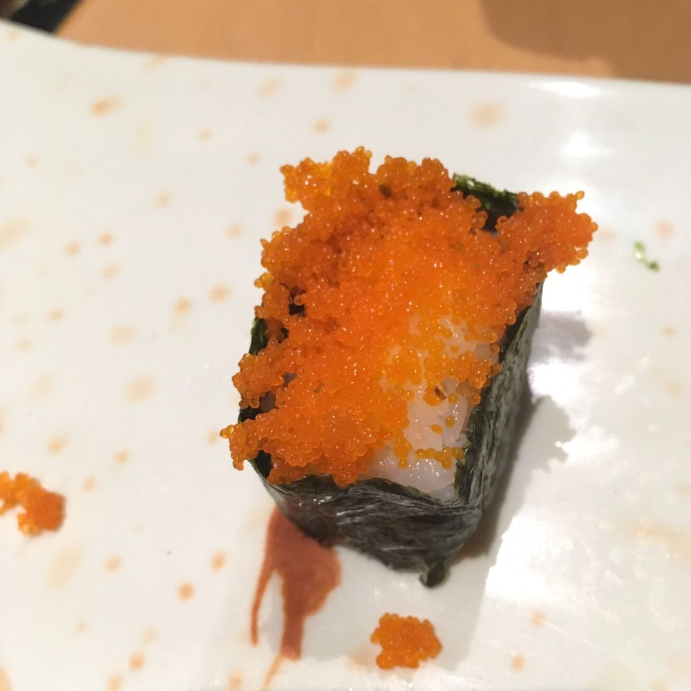 Flying fish roe sushi yelp for Flying fish roe