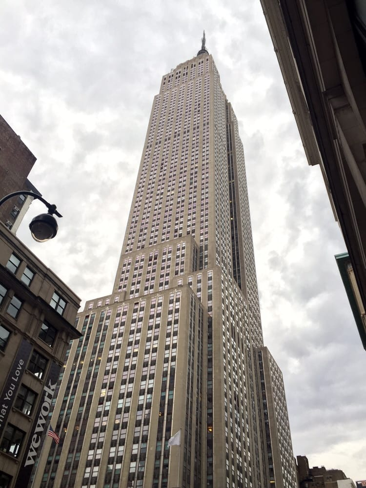 Looking Up At The Empire State Building Yelp
