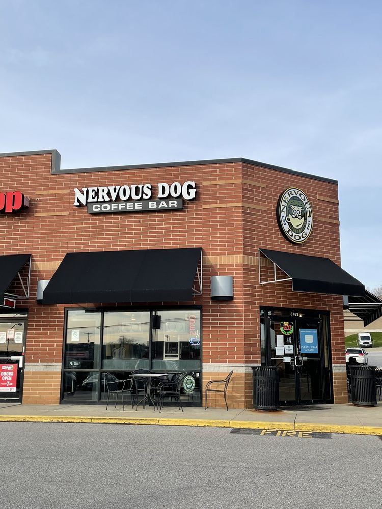 Nervous Dog Coffee Bar - Montrose: 3763 W Market St, Fairlawn, OH