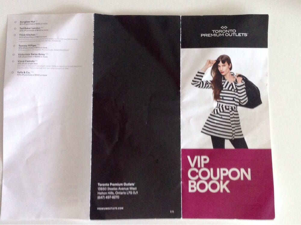 Toronto premium outlets coupons