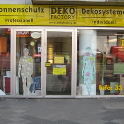 Deko Factory 13 Photos Stores Persiennes Corneliusstr 100