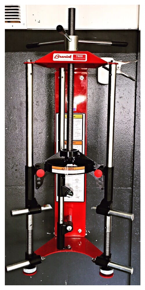 Our Branick 7600 Strut Spring Compressor The Best Of The