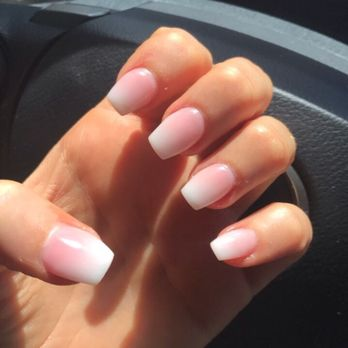 Photo Of Pearl Nails Jacksonville Beach Fl United States French Ombré Coffin