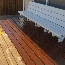 Photo Of Starlight Restoration   Lakewood, CO, United States. Staining This  Deck With
