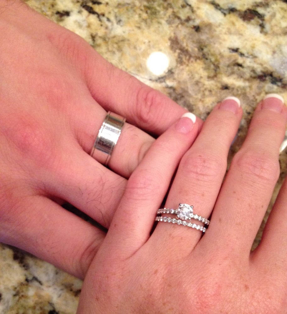 We LOVE our wedding rings from D&R House of Diamonds! Dave was such ...