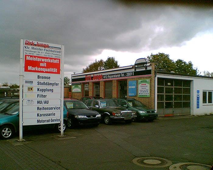 Dirk junge garages flensburger str 8 pinneberg for Landesbauordnung schleswig holstein carport
