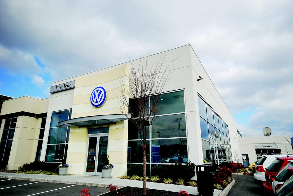 First Team Volkswagen Car Dealers 6900 Peters Creek Rd
