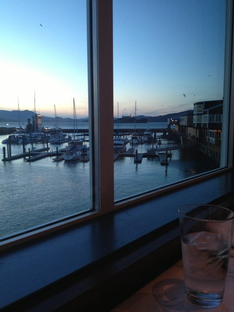 Gorgeous view yelp for Fog harbor fish house san francisco