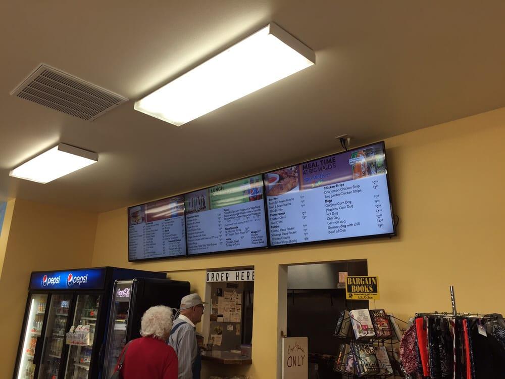 Big Wally's: 9944 Hwy 2 E, Coulee City, WA