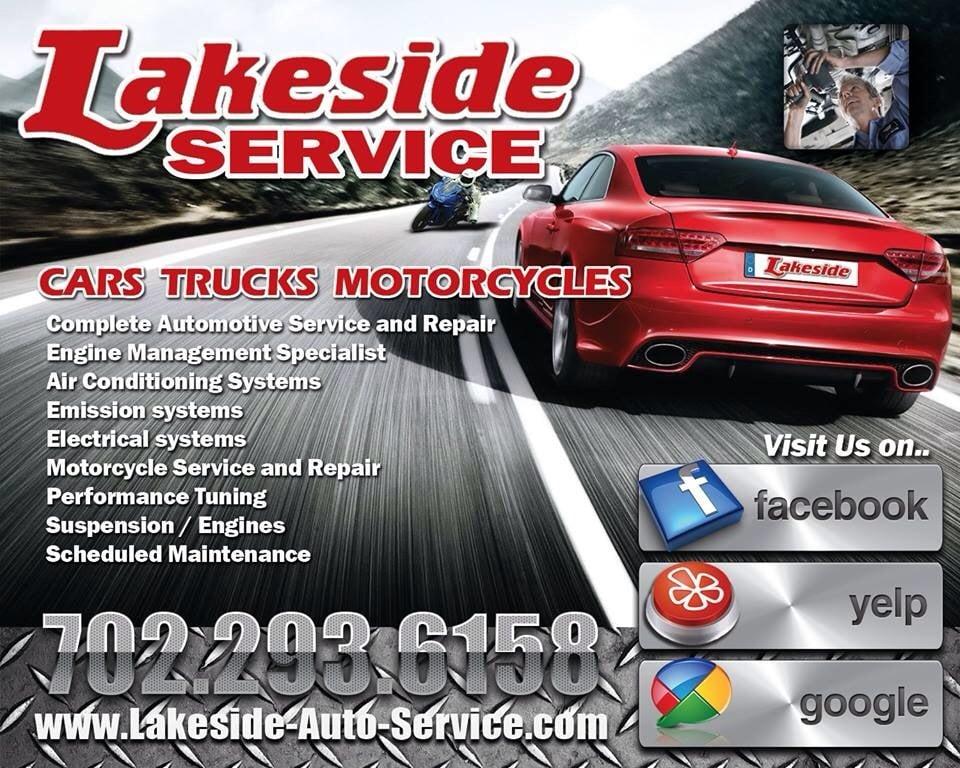 Lakeside Auto Service Ad Yelp