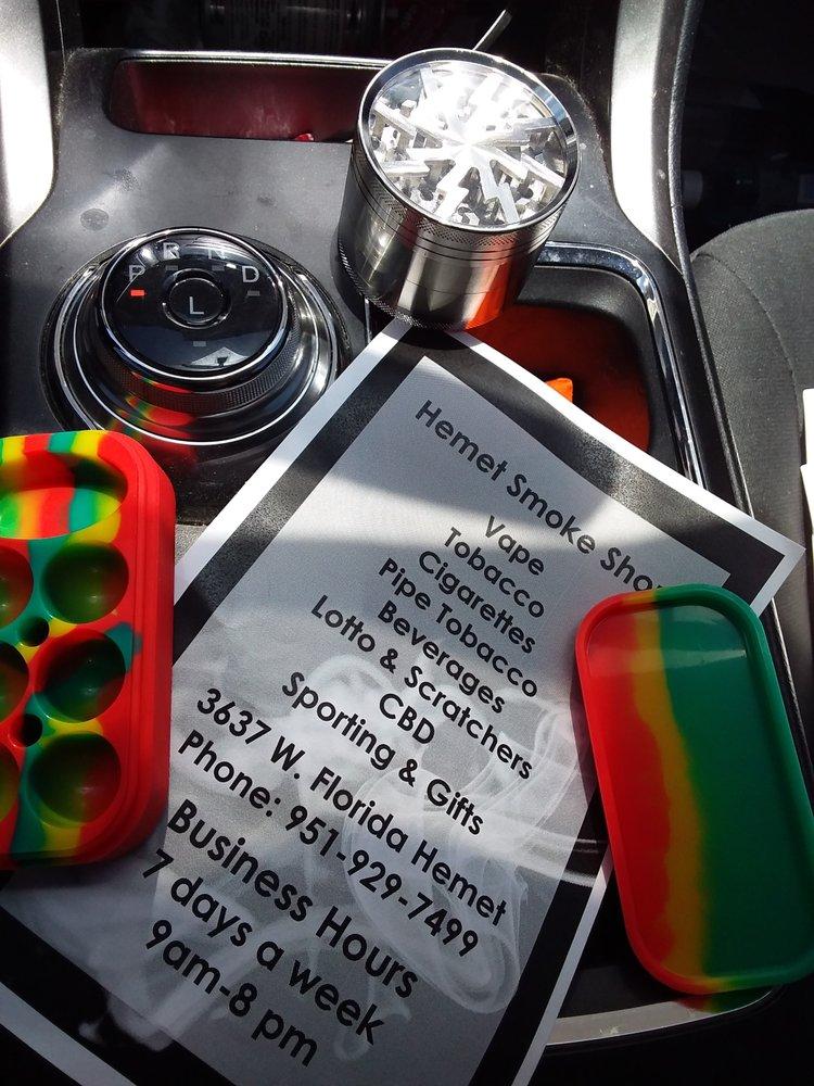 Smoke Shop: 3637 W Florida Ave, Hemet, CA