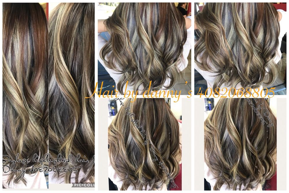 Baylage Highlighted Hair By Danny Yelp