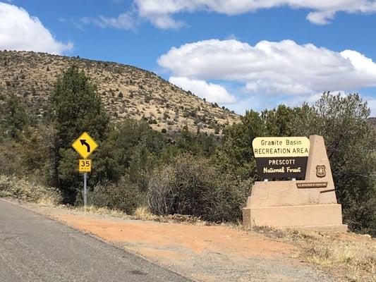 Granite Basin Recreation Area 4301 4307 N Granite Basin Rd