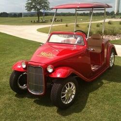 Baggers Custom Golf Carts CLOSED Golf Cart Dealers Fall - Granbury car show