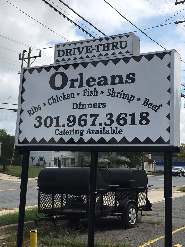 Orleans Catering: 6703 Suitland Rd, Suitland, MD