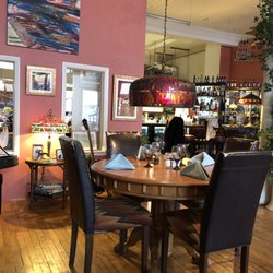 Photo Of Wall Street Gallery And Bistro Mazomanie Wi United States Inside