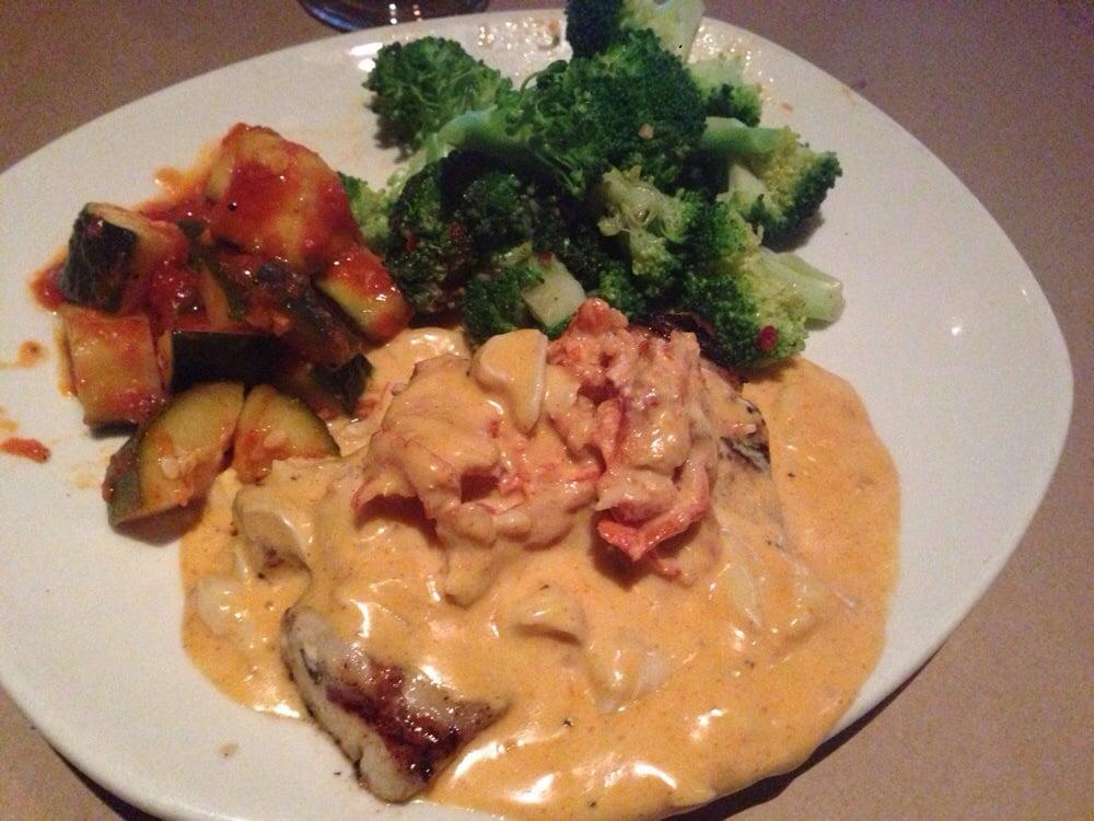 Lobster Thermidor Dorado Mahi Mahi Mahi Grilled Topped With Sweet Lobster Lump Crap Cream