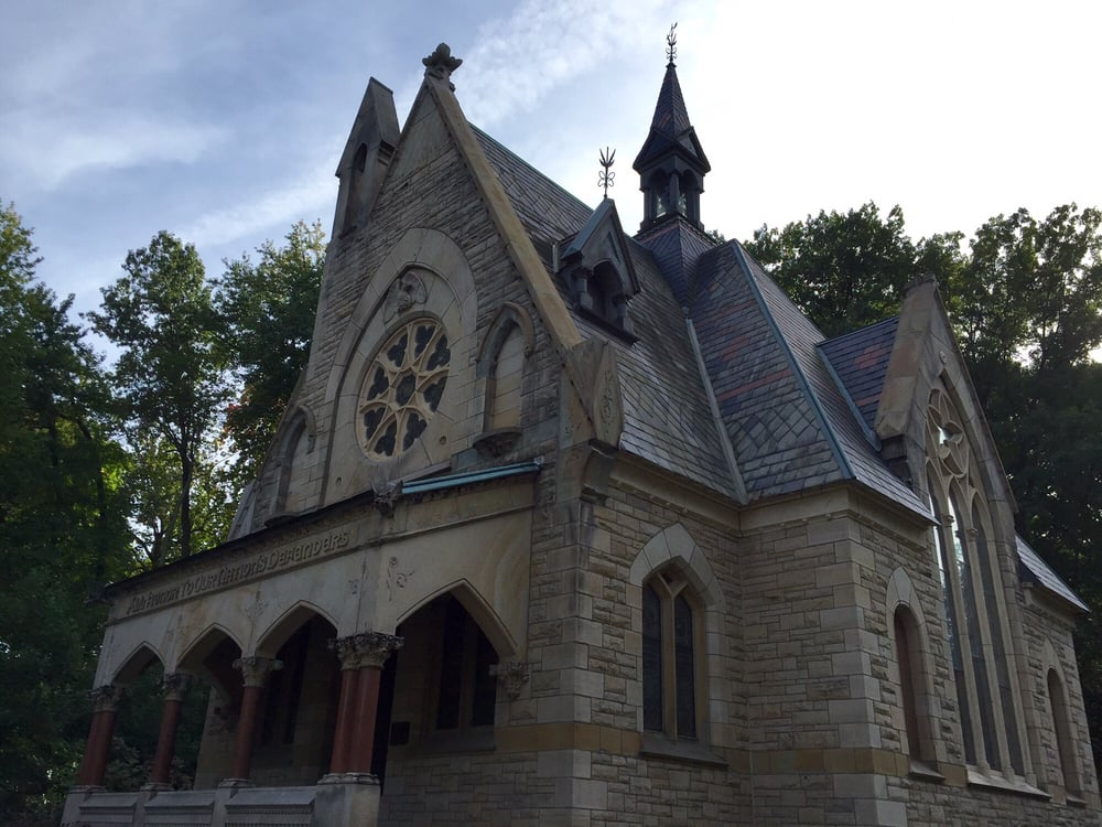 Glendale Cemetery: 150 Glendale Ave, Akron, OH