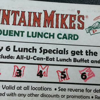 mountain mike s pizza order food online 30 photos 32 reviews rh yelp com mountain mike's buffet hours wednesday mountain mikes buffet hours livermore