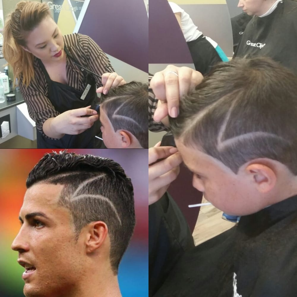 Christiano Ronaldo Haircut By Lexy Yelp