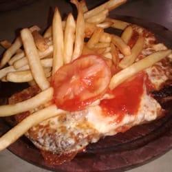 Photo Of El Patio Del Montevideo   Buenos Aires, Argentina. Matambre A La  Pizza