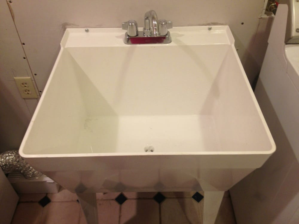 Superior Photo Of Juanu0027s Plumbing Services   Hollister, CA, United States. Florestone  Utility Sink