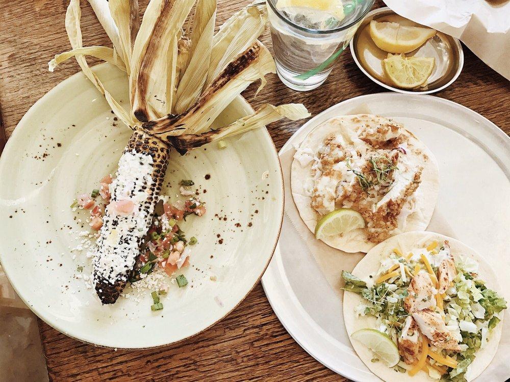 Food from Farmhouse Tacos