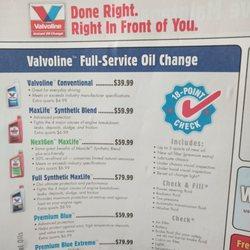 Valvoline Instant Oil Change 10 Reviews Oil Change Stations