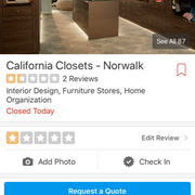 The Norwalk Showroom Photo Of California Closet Company   Shelton, CT,  United States. Nothing Overhangs Here
