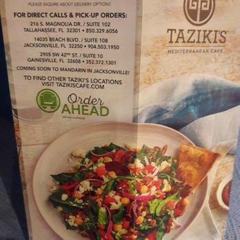 Taziki S Mediterranean Cafe Jacksonville Fl