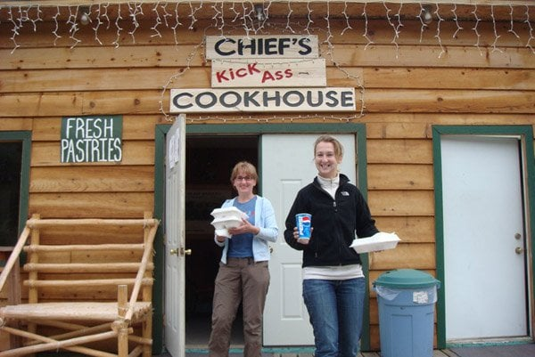 Chief's Kick-ass Cookhouse: Cooper Landing, AK