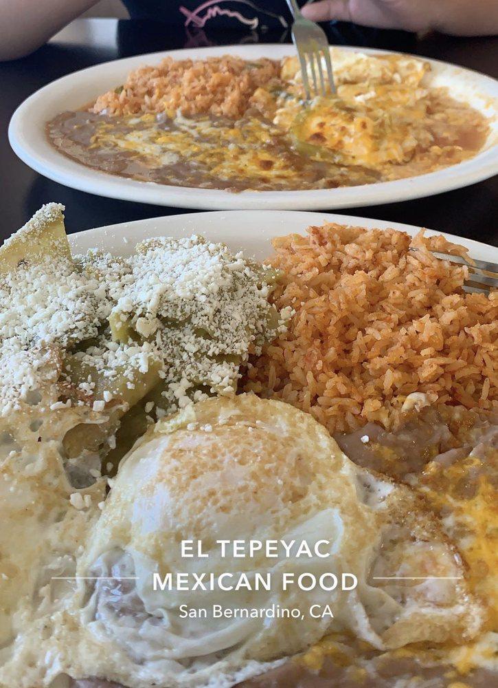 El Tepeyac Mexican Food: 144 S Arrowhead Ave, San Bernardino, CA